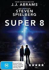 SUPER 8 - BRAND NEW & SEALED R4 DVD (DIRECTOR J. J. ABRAMS, STEVEN SPIELBERG)