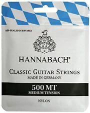 Hannabach 500mt Jeu de Corde pour Guitare Classique