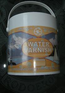 WATER VARNISH - IMPREGNANTE PROTETTIVO PER LEGNO 2,5lt
