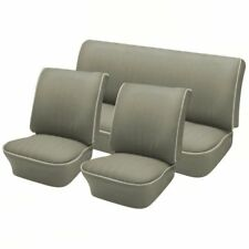 1958 - 64 Volkswagen VW Bug OEM Classic Seat Upholstery, Front & Rear, Gray