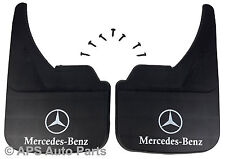 Universal Car Mudflaps Front Rear Mercedes Logo S Class Front Mud Flap Guard