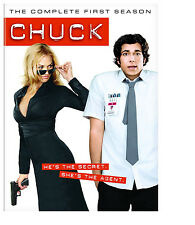 Chuck - The Complete First Season 1  (DVD, 2008, 4-Disc Set) / CASE IS BROKEN