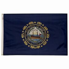 5x8 ft NEW HAMPSHIRE Live Free or Die OFFICIAL STATE FLAG Outdoor Nylon USA Made