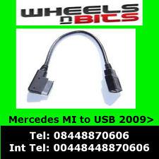 Cable de interfaz de medios USB al adaptador de plomo A0018278204 se ajusta Mercedes 2009 >