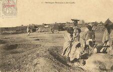 CARTE POSTALE AFRIQUE MAROC BOULANGERE MAROCAINE A DAR-CHAFFAI