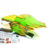 88009 RC 1/10 Scale Monster Truck Body Shell Cover HSP Green Cut Narrow