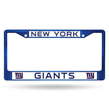New York Giants Blue Metal License Frame [NEW] NFL Auto Car Truck Plate Steel NY