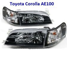 Front Headlight Lights Lamp - Toyota Corolla AE100 AE101 E100 Sedan Wagon 91-95