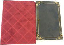 Book Box Hidden Jewelry & Red Writing NoteBook