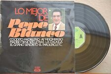 PEPE BLANCO LO MEJOR SPANISH LP SPANISH FOLK