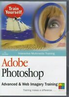 Adobe Photoshop: Advanced & Web Imagery Training [PC CD-ROM, 2003]Train Yourself