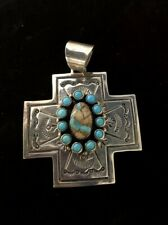 Native American Navajo Pendant Signed By Francis #1380