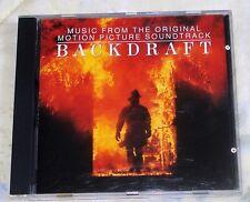 BACKDRAFT (Hans Zimmer) rare original mint cd (1991)  OUT-OF-PRINT