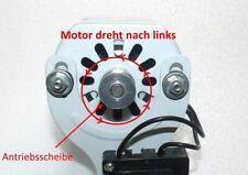 Klein Nähmaschinen motor 120W ( weiss , richtung links )