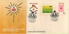 MAL 1986 Malaysian Games 1986 ~ FDC