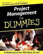 Project Management for Dummies (US Edition),Stanley E. Portny- 9780764552830