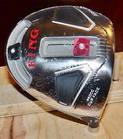 King X888 Titanium Driver - 2 Sliding Weights - Head Only - 9.5, 10.5 or 12 Deg