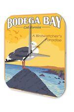 Agence Voyage Vacances Décoration Horloge  Bodega Bay Californie mouettes ornit