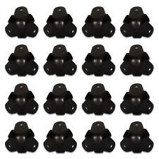 Goldwood Sound GC-201B Steel Black Cabinet Corners Set of 16 Speaker 3 Leg