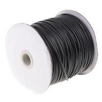 1 Rolle 2,5mm Baumwollschnur, Gewachste Baumwoll schnur Wachsband Baumwollkordel