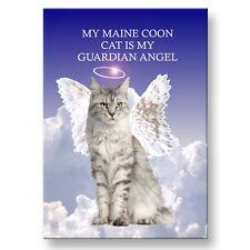MAINE COON CAT Guardian Angel Fridge Magnet No 1 Pet Loss