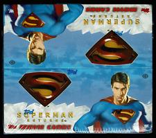 2006 Topps Superman Returns Movie Trading Cards Hobby Box Sealed 24 Packs