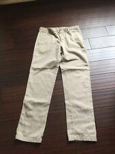 Men Teen Boys Work School Uniform Khaki Pants Mills Uniform Co 31X32