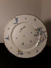 HAVILAND LIMOGES MONTMERY FORGET ME NOT DINNER PLATE 10 1/8""