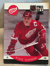 Collectible 1990 Proset Hockey Card #79 Steve Yzerman Detroit Red Wings