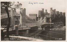 The Bridge & Castle, CONWAY, Caernarvonshire RP