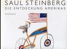 Saul Steinberg, Die Entdeckung Amerikas - (hb,dj,slipcase,1992)