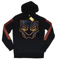 Marvel x Hybrid Apparel Black Panther Mens Hoodie Long sleeves Sweatshirt