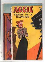 AGGIE vedette de la télévision. Album Aggie n°3. SPE vers 1959