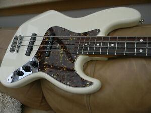 1982-84 JV Squier by Fender Jazz Bass Guitar. Japan Vintage Fujigen. MIJ
