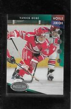 1993-94 PARKHURST WORLD JUNIOR BEST # 512 YANICK DUBE !!