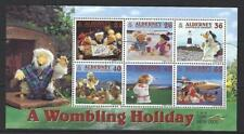 ALDERNEY 2000 WOMBLING HOLIDAY - THE WOMBLES MINIATURE SHEET FINE USED