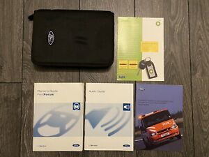 FORD FOCUS OWNERS HANDBOOK USER MANUAL & WALLET 2005-2008 MARK 2 TDCI TI-VCT ST