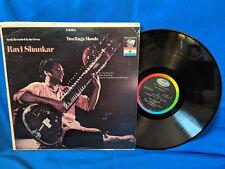Ravi Shankar LP Two Raga Moods Capitol St 10482 Sitar