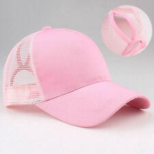 Summer NEW Ponytail-Baseball Cap Women Messy Bun-Baseball-Hat-Snapback Hat