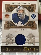 2010-11 Crown Royale Heirs To The Throne Jersey Jonas Gustavsson/250