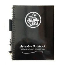 Magic Whiteboard note book Reusable A5 the original and the best