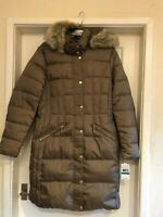 Michael Kors Puffer Down Truffle Coat Jacket Size L New With Tags