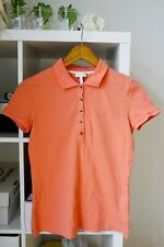 Escada Sport T-shirt, Pastel Red Polo Tops, Cotton Jersey, Size S, Value £89