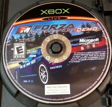 Forza Motorsport Demo Disc Microsoft Xbox Disc ONLY NFS