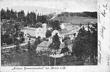 B16125 Arnau Schloss Herrmannseifen Hostinné 1902    czech republic