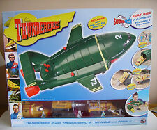 THUNDERBIRDS 40TH ANNIVERSARY SUPERSIZE THUNDERBIRD 2 - SOUNDTECH SEALED RARE