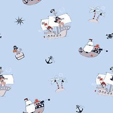 Rasch Textil bimbaloo 2 804668 Tissu d'ameublement à coudre soi-même pirates île