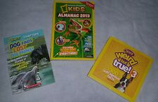 National Geographic Kids Book Lot of Three
