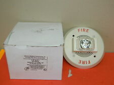 SIEMENS S-HP-MCS-C FIRE ALARM SPEAKER WITH STROBE WHITE PN:500-699739