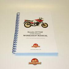 Manual de taller de motor VF Honda